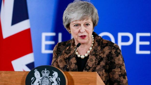 Brytyjska premier Theresa May /STEPHANIE LECOCQ  /PAP/EPA