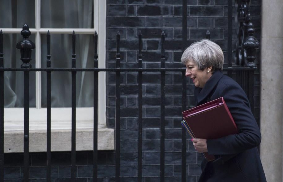 Brytyjska premier w środę spotka się z prezesem PiS /WILL OLIVER  /PAP/EPA