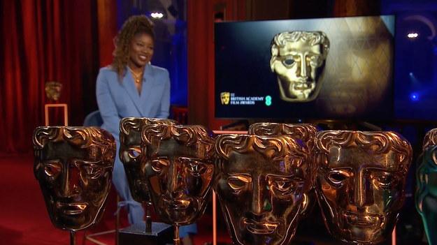 Brytyjska prezenterka radiowa i telewizyjna Clara Amfo prowadziła ceremonię rozdania nagród /TOM DYMOND / BAFTA HANDOUT /PAP/EPA