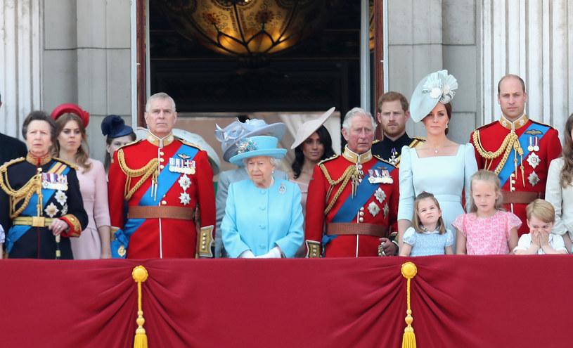 Brytyjska rodzina królewska /Chris Jackson /Getty Images