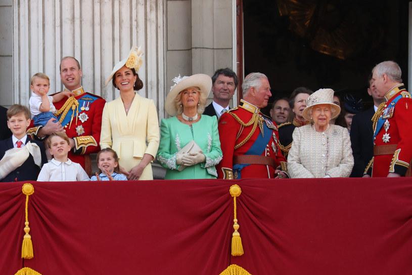 Brytyjska rodzina królewska /Neil Mockford/GC Images /Getty Images