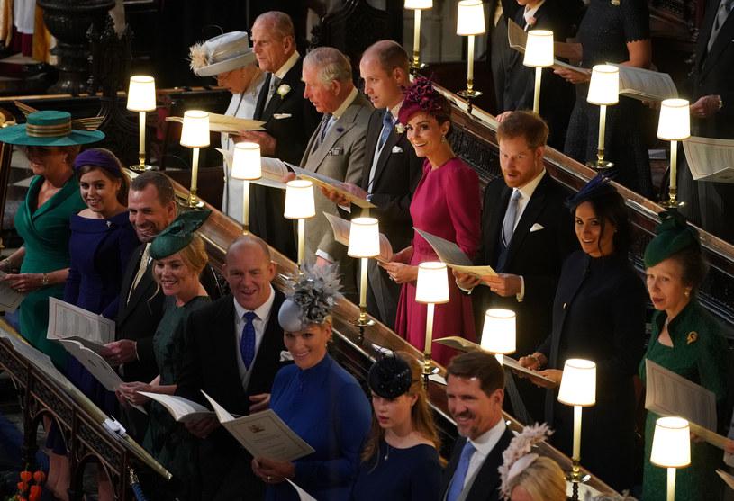 Brytyjska rodzina królewska /WPA Pool / Pool /Getty Images