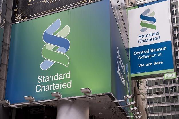 Brytyjski bank Standard Chartered zwolni 15 tys. zatrudnionych, fot. Alex Ogile /AFP