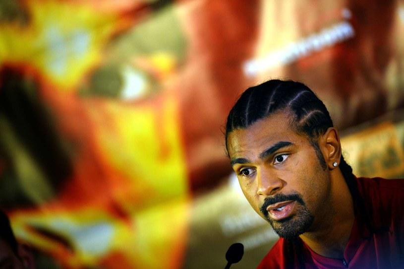 Brytyjski bokser David Haye /AFP