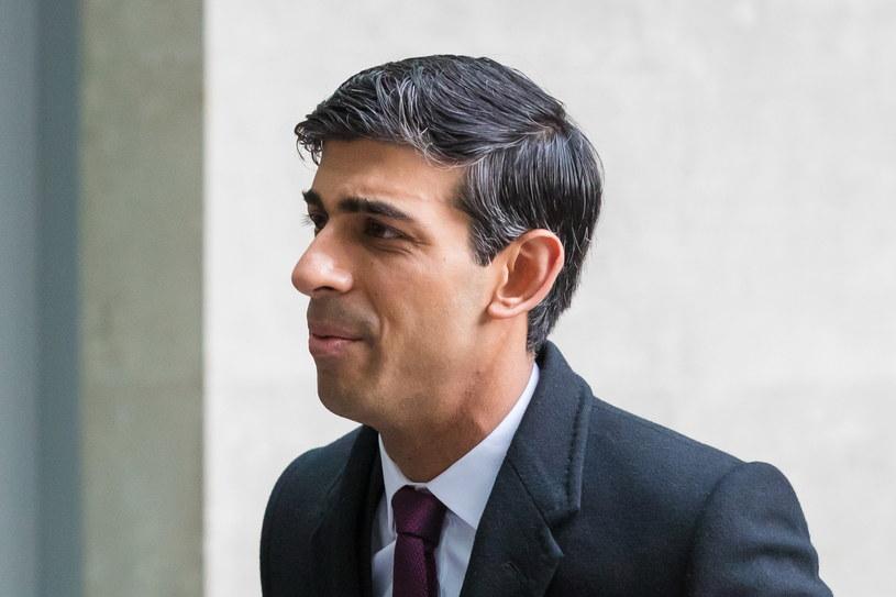 Brytyjski minister finansów Rishi Sunak /VICKIE FLORES /PAP/EPA
