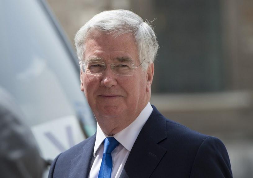 Brytyjski minister obrony Michael Fallon /East News /AFP