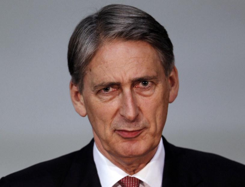Brytyjski minister spraw zagranicznych Philip Hammond /AFP