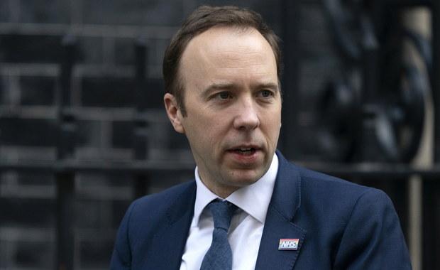Brytyjski minister zdrowia z koronawirusem
