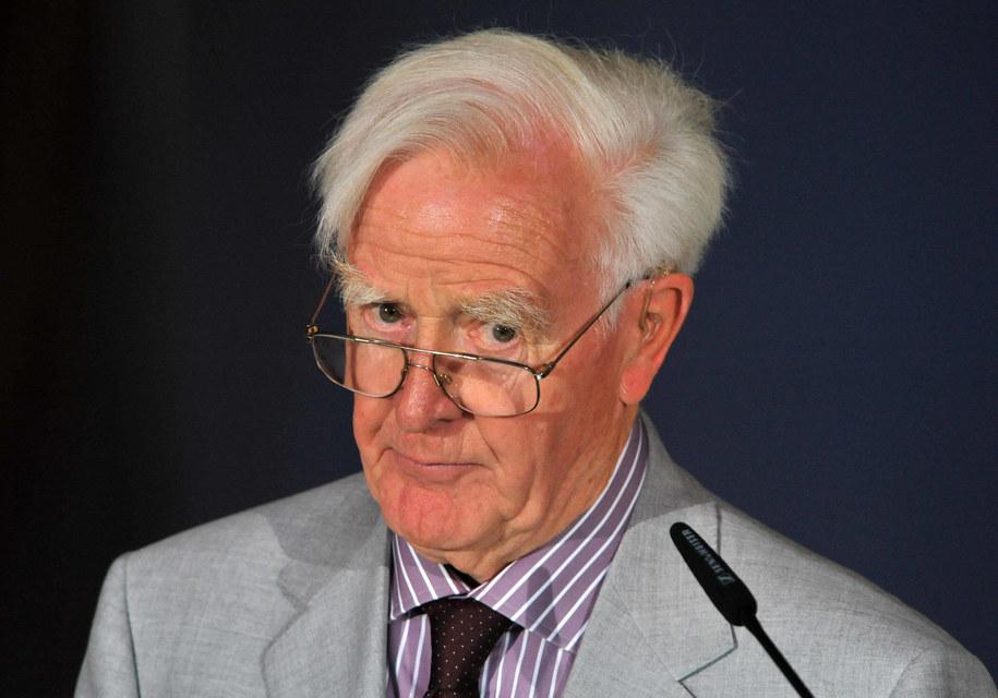 Brytyjski pisarz David Cornwell używał nazwiska John le Carre /Martin Schutt    /PAP/DPA