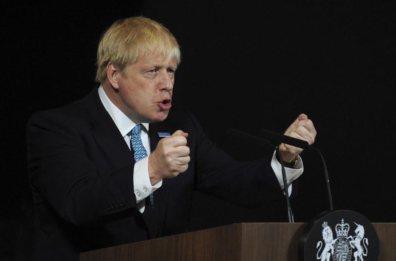 Brytyjski premier Boris Johnson /Rui Vieira / POOL /AFP