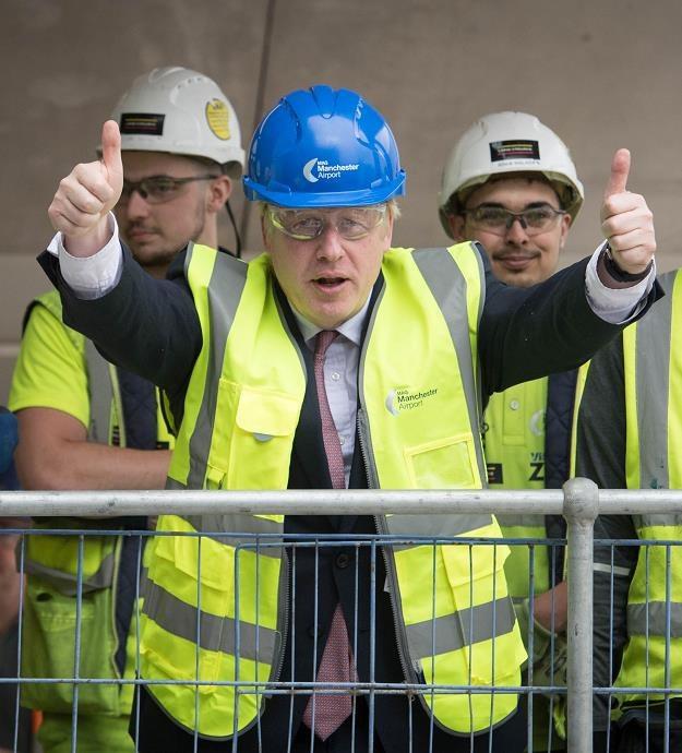 Brytyjski premier Boris Johnson /AFP