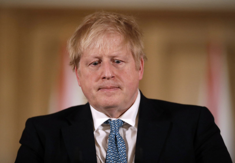 Brytyjski premier Boris Johnson /AFP