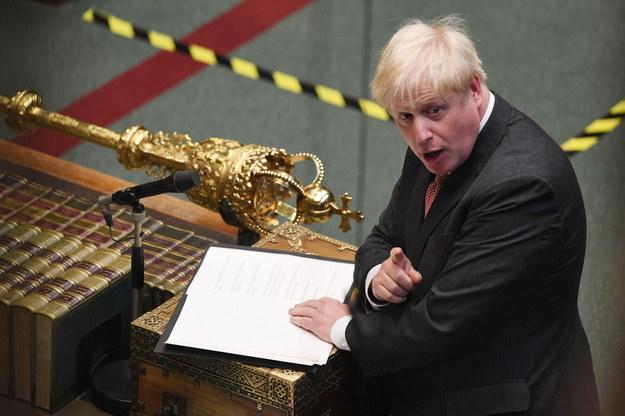 Brytyjski premier Boris Johnson /PAP/EPA