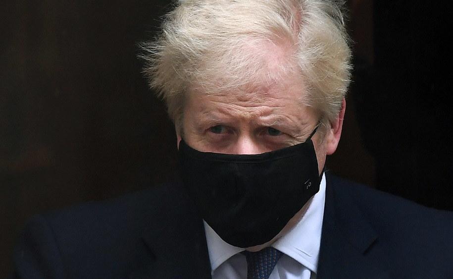 Brytyjski premier Boris Johnson / ANDY RAIN    /PAP/EPA
