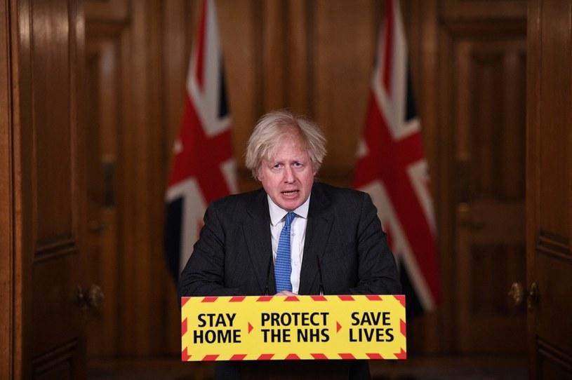Brytyjski premier Boris Johnson /STEFAN ROUSSEAU / POOL /AFP