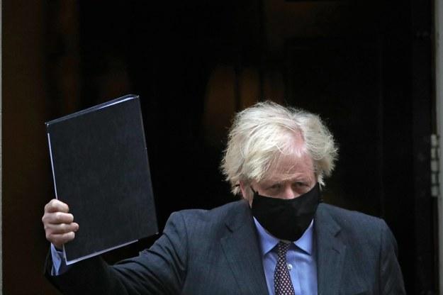 Brytyjski premier Boris Johnson /Aaron Chown  /PAP/PA
