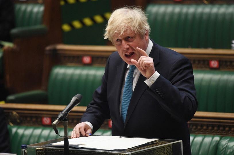Brytyjski premier Boris Johnson /JESSICA TAYLOR / UK PARLIAMENT HANDOUT /PAP/EPA
