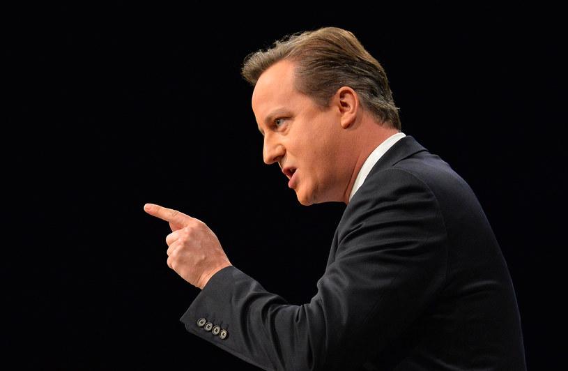 Brytyjski premier David Cameron /AFP