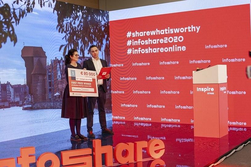 Brytyjski startup iLoF - Intelligent Lab on Fiber wygrał 20 tysięcy euro w prestiżowym konkursie, organizowanym podczas konferencji Infoshare 2020 Online /Informacja prasowa