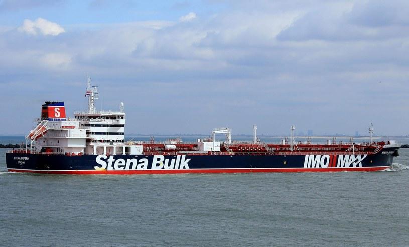 Brytyjski tankowiec Stena Impero /JAN VERHOOG/AFP /East News