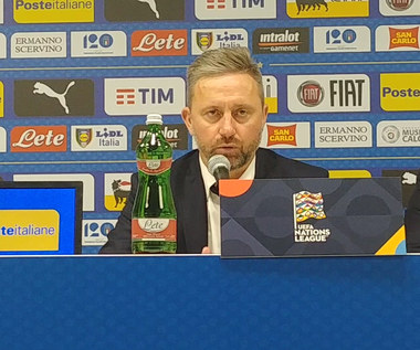 Brzęczek po 1-1 z Włochami: Jestem zadowolony z Kuby i każdego innego zawodnika. Wideo