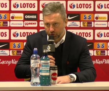 Brzęczek po przegranej z Czechami. Wideo