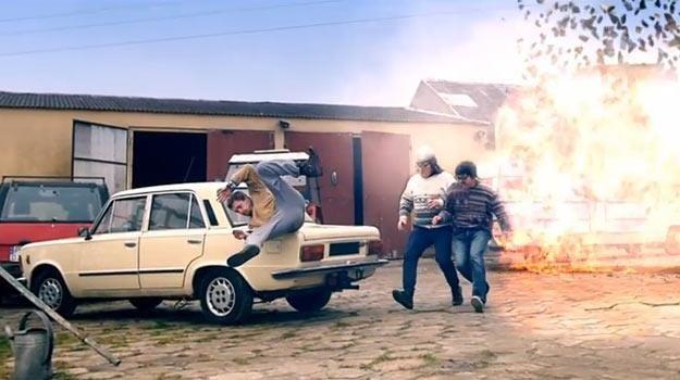"""""""Brzydcy i wściekli"""", czyli '""""Fast and Furious"""" po polsku... - fot. YouTube /"""