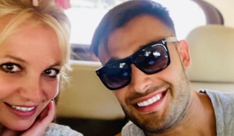 Bsitney Spears i Sam Asghari, fot. https://www.instagram.com/samasghari/ /Instagram