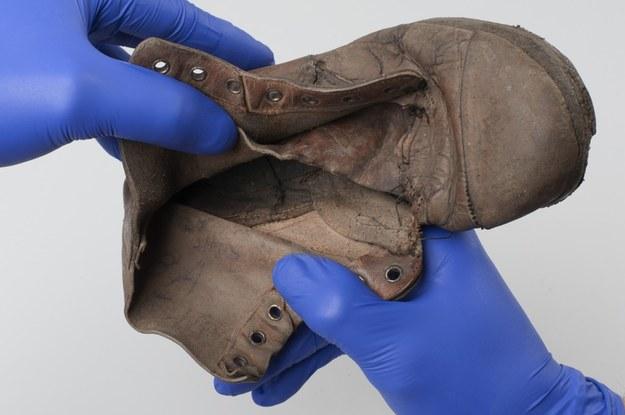 Bucik, w którym odnaleziono imię Amosa Steinberga /Muzeum Auschwitz /