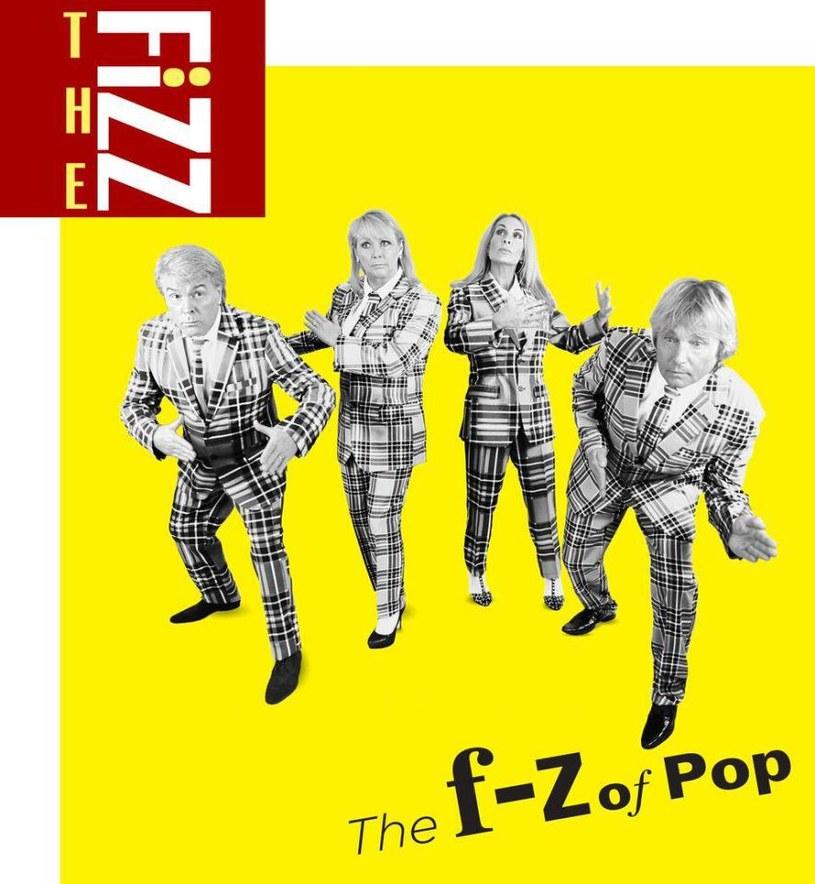 "Buck Fizz na okładce płyty ""The F-Z of Pop"". Od lewej: Mike Nolan, Cheryl Baker, Jay Aston i Bobby McVay /"