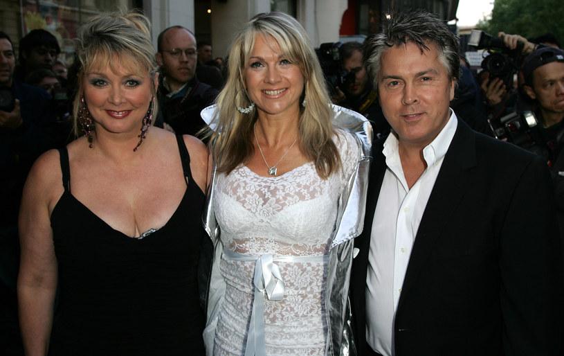 Bucks Fizz w 2007 roku. Od lewej: Cheryl Baker, Shelley Preston i Mike Nolan /Gareth Cattermole /Getty Images