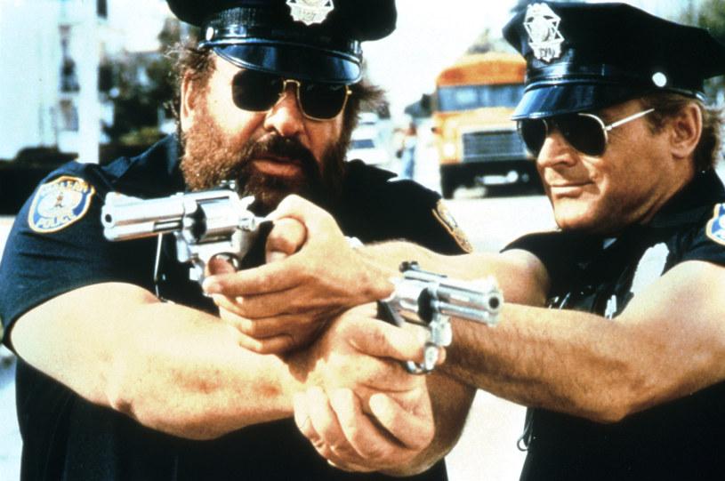 "Bud Spencer i Terence Hill jako ""Supergliny z Miami"" /AKPA"