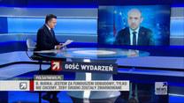 """Budka w """"Gościu Wydarzeń"""" o FO: Tylko 211 posłów PiS-u poparło premiera, to premier mniejszościowy"""