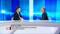Budka: W konstytucji jest prosty zapis: przestrzegamy prawa międzynarodowego. Dzisiaj PiS i Jarosław Kaczyński to prawo łamią
