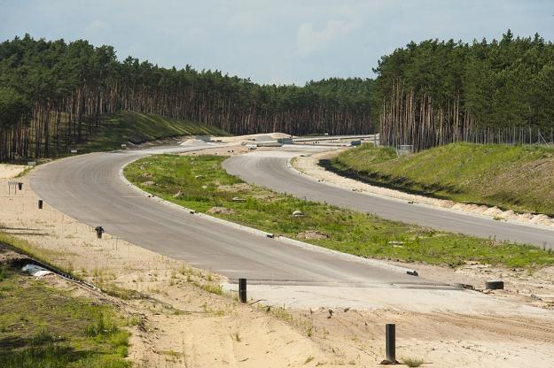 Budowa autostrady A1 / Fot: Piotr Lampowski /Reporter