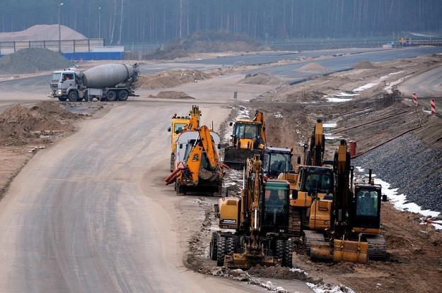 Budowa autostrady A1 na odcinku Nowe Marży - Czernice / Fot: Wojciech Stróżyk /Reporter