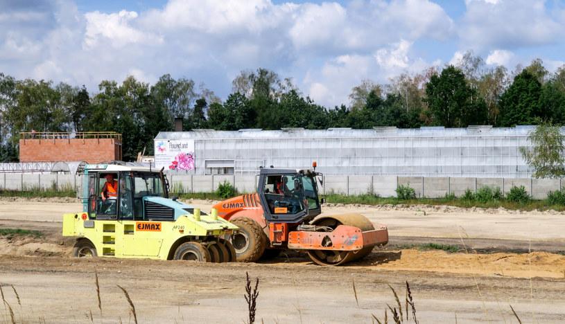 Budowa autostrady A1 /Tomasz Kawka /East News
