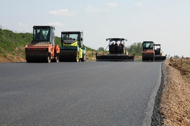 Budowa autostrady  A2. Fot. Łukasz Jóźwiak /Reporter