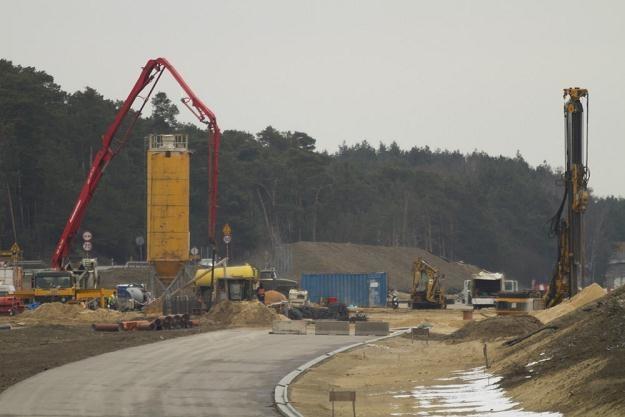 Budowa brakującego odcinka A1 / fot: Adam Wysocki /East News