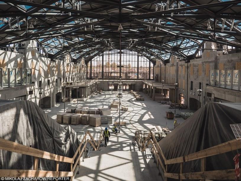 Budowa dworca Łódź Fabryczna /Mikołaj Zacharow /Reporter