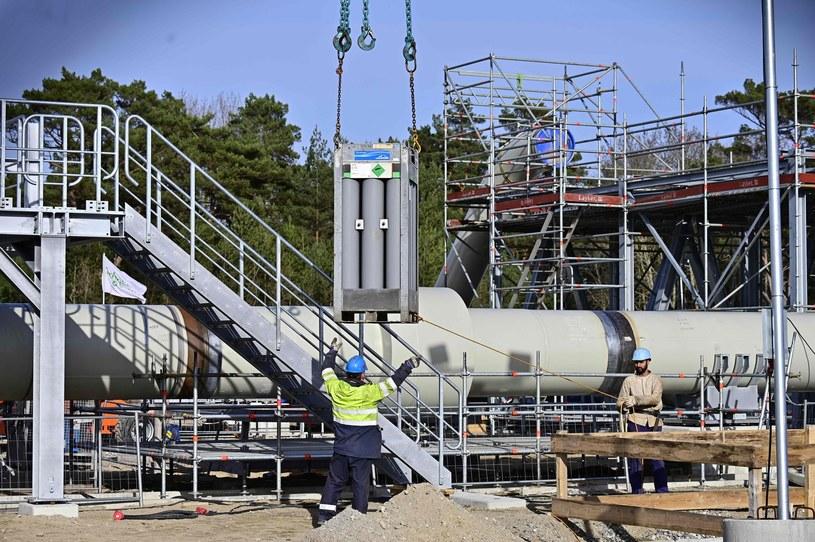 Budowa gazociągu Nord Stream 2 /TOBIAS SCHWARZ /Agencja SE/East News