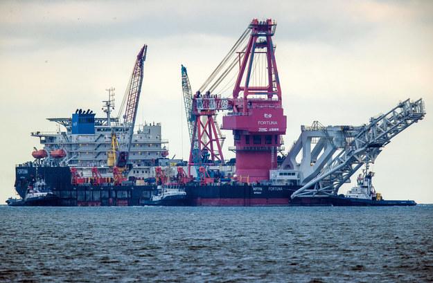 Budowa gazociągu Nord Stream 2 /Jens Büttner    /PAP/DPA