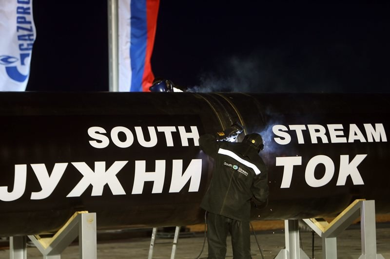 Budowa gazociągu South Stream /KOCA SULEJMANOVIC /PAP/EPA
