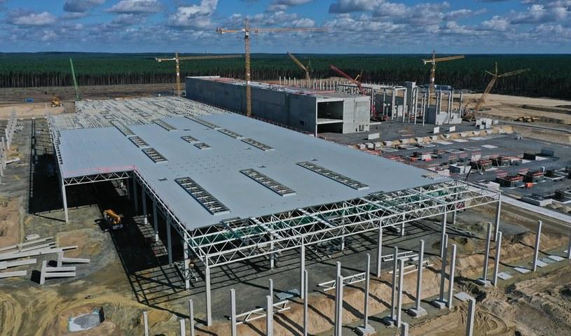 Budowa Gigafactory w Niemczech /Getty Images