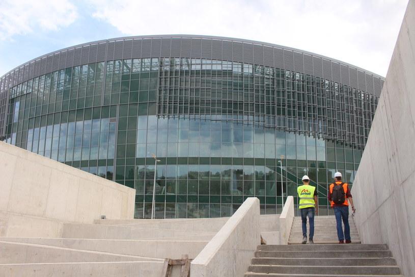 Budowa hali w Gliwicach / fot. Arkadiusz Gola / Polska Press /PUSTE /East News