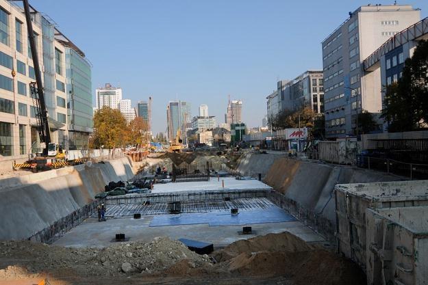 Budowa II linii metra w Warszawie, fot. Adam Stępień /East News