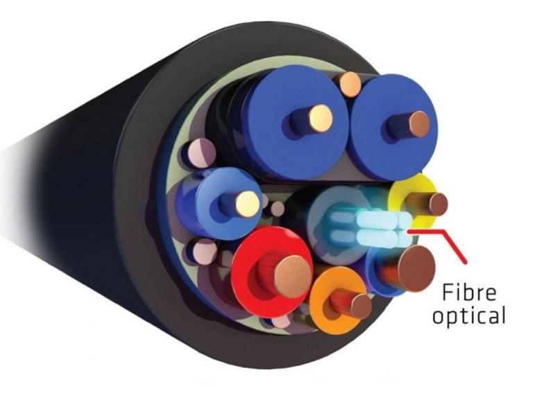Budowa kabla AOC. Fot. C4i /materiały prasowe
