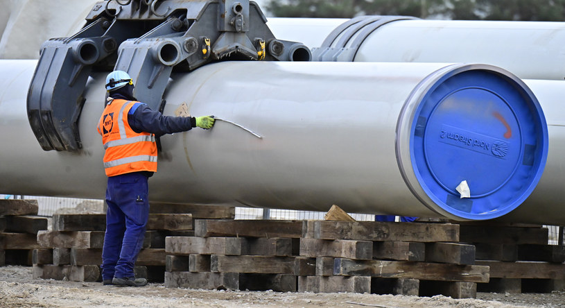 Budowa Nord Stream 2, zdjęcie ilustracyjne /TOBIAS SCHWARZ / AFP /AFP