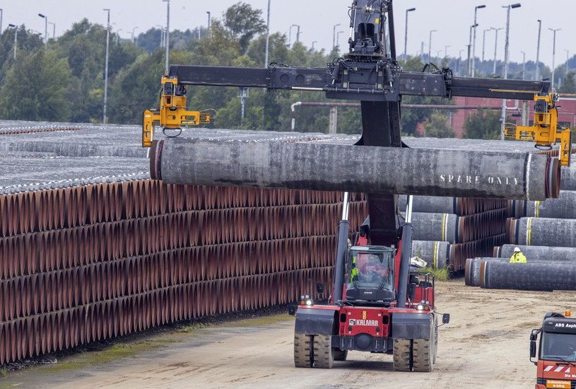 Budowa Nord Stream 2/ zdjęcie ilustracyjne /dpa/Associated Press /East News