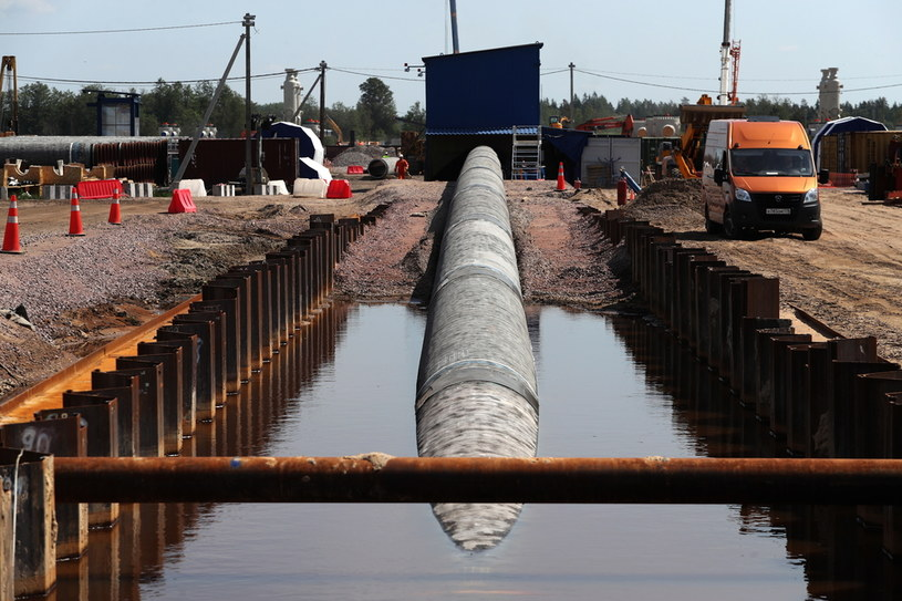Budowa Nord Stream 2 /Alexander Demianchuk\TASS /Getty Images